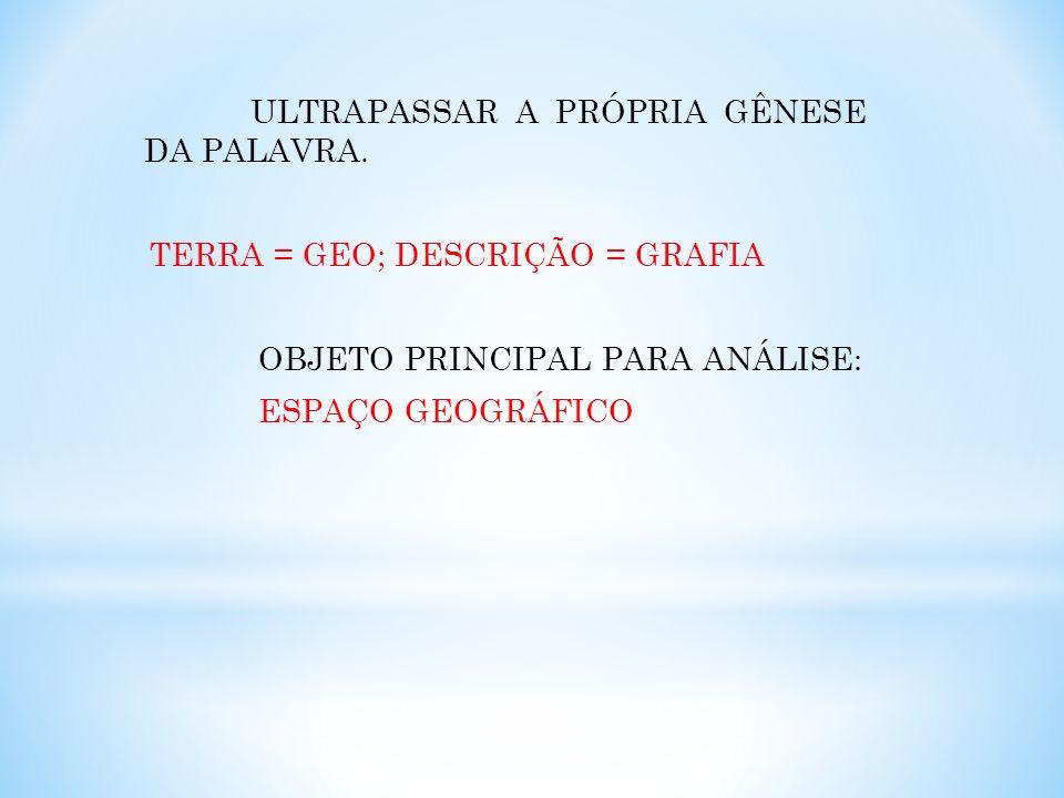 ULTRAPASSAR A PRÓPRIA GÊNESE DA PALAVRA