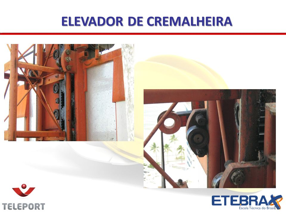 ELEVADOR DE CREMALHEIRA