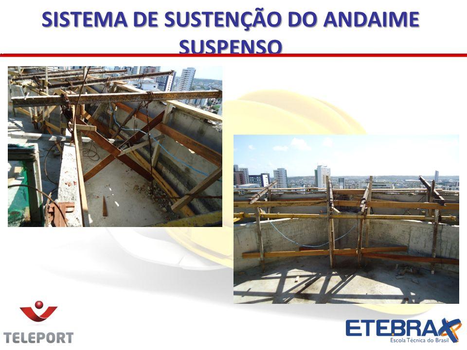 SISTEMA DE SUSTENÇÃO DO ANDAIME SUSPENSO