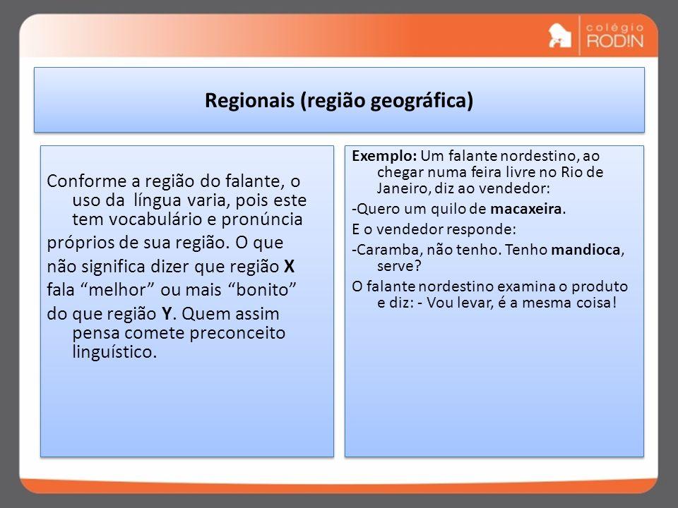 Regionais (região geográfica)