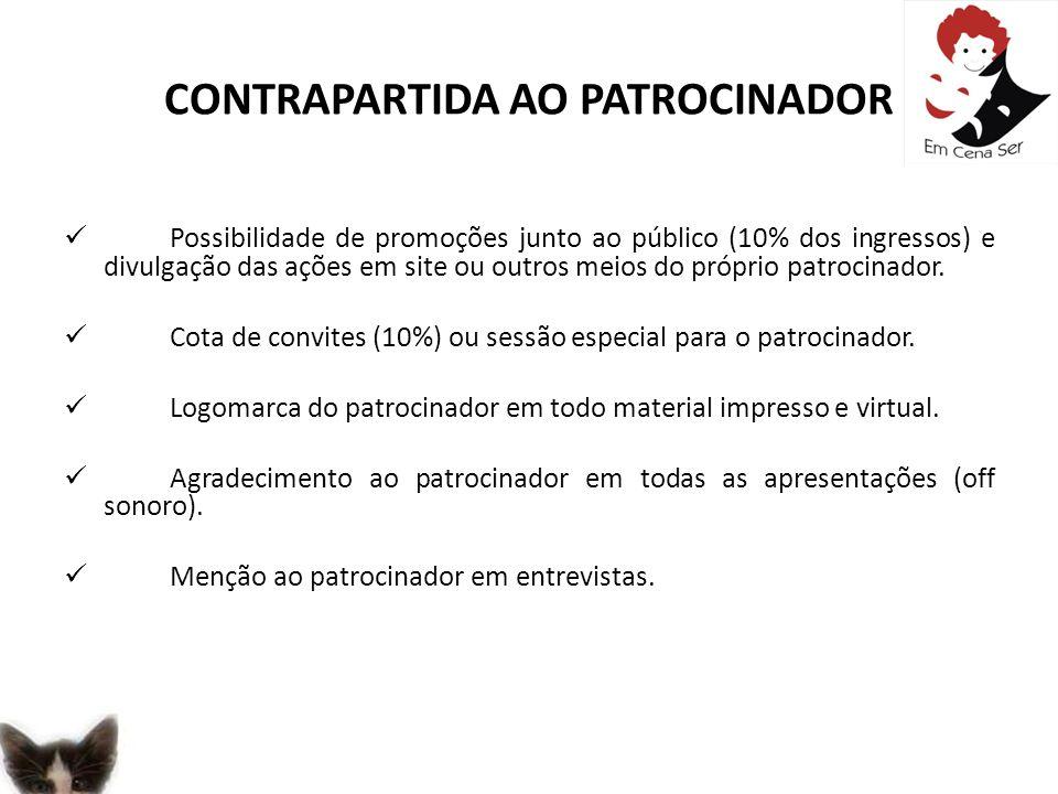 CONTRAPARTIDA AO PATROCINADOR