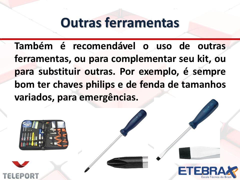 Outras ferramentas
