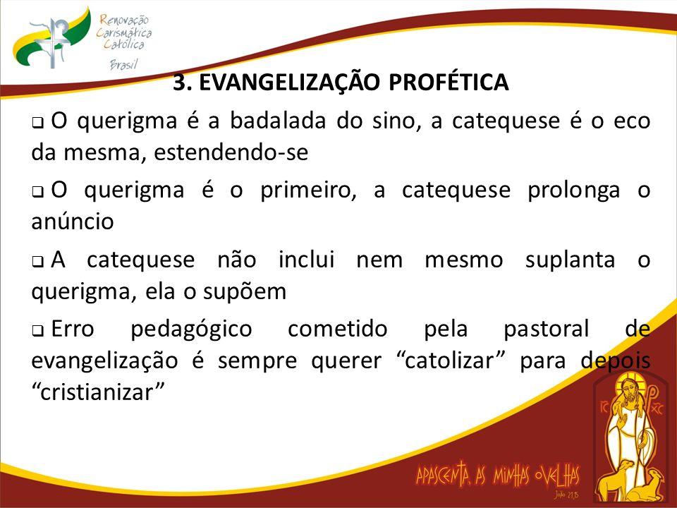 3. EVANGELIZAÇÃO PROFÉTICA