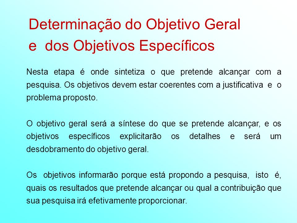 Extremamente Tema, Problema, Justificativa. Objetivos e Hipóteses - ppt video  CJ31