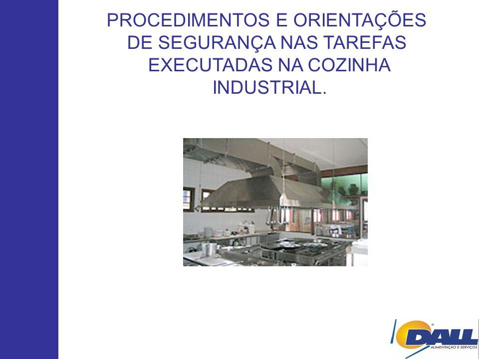 PROCEDIMENTOS E ORIENTAÇÕES DE SEGURANÇA NAS TAREFAS