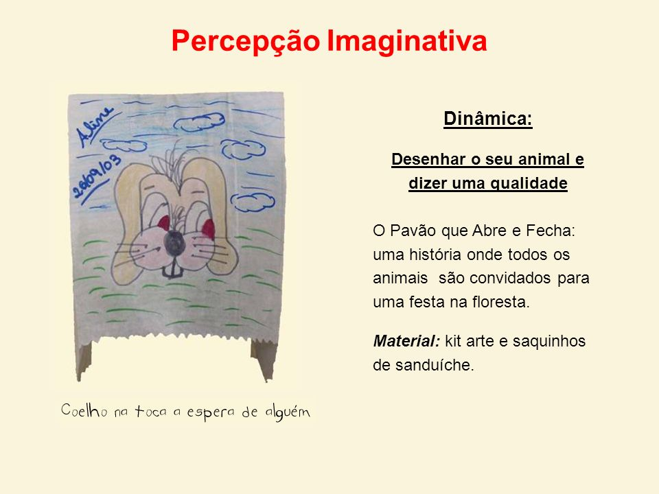 Percepção Imaginativa