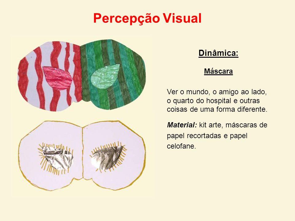 Percepção Visual Dinâmica: Máscara