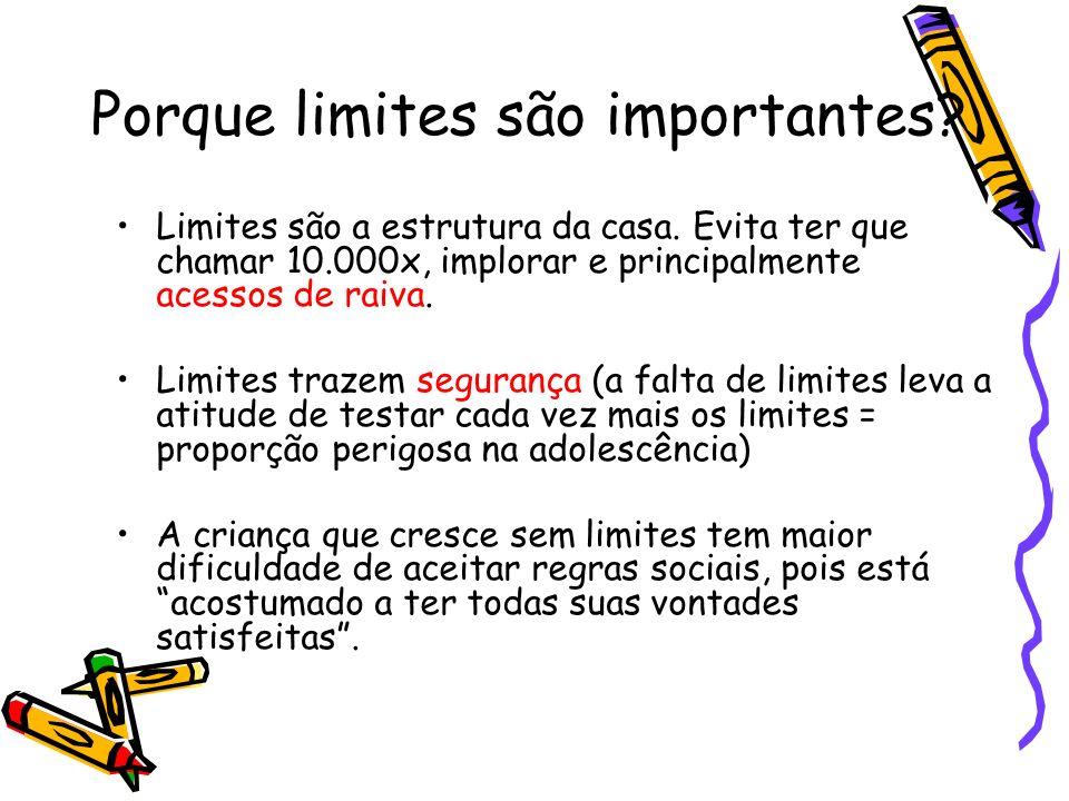 Porque limites são importantes