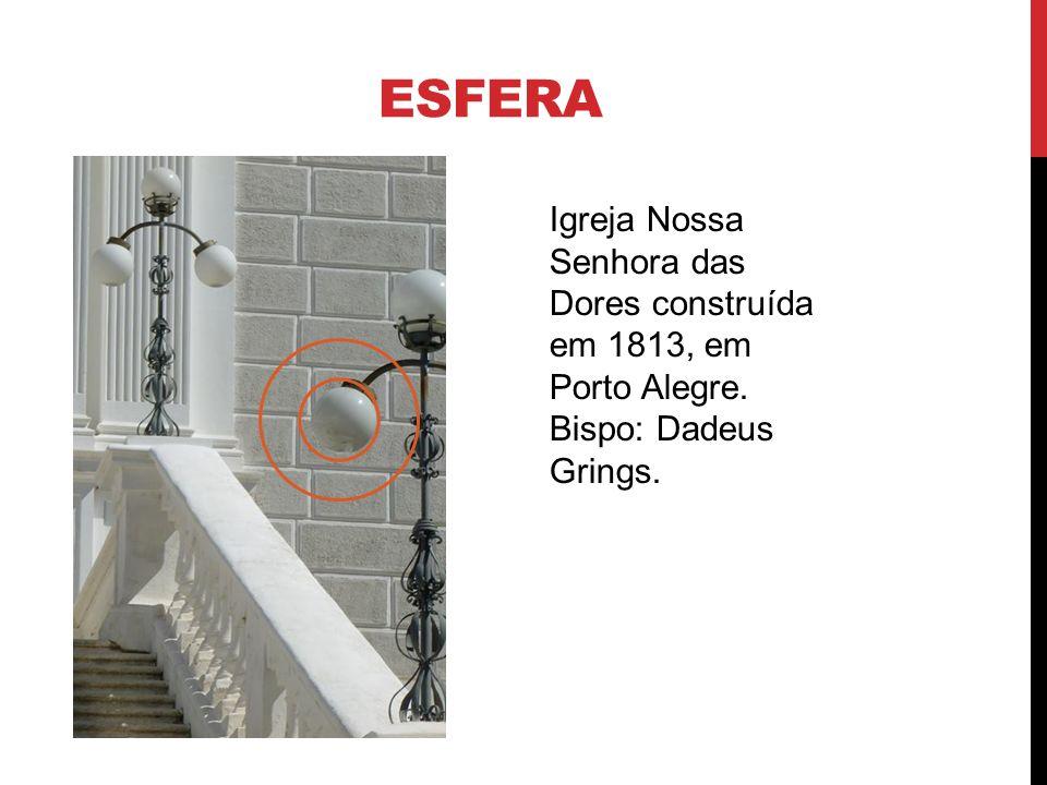 esfera Igreja Nossa Senhora das Dores construída em 1813, em Porto Alegre. Bispo: Dadeus Grings.