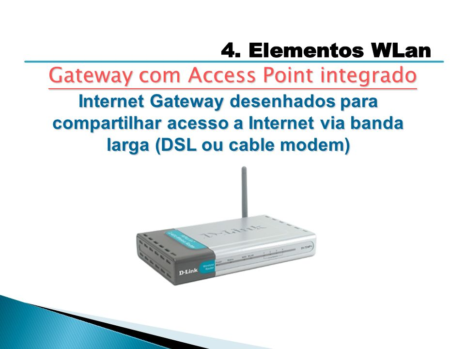 Gateway com Access Point integrado