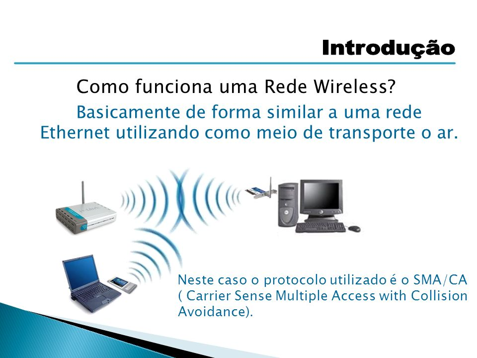 Como funciona uma Rede Wireless
