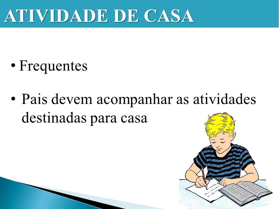 ATIVIDADE DE CASA Frequentes