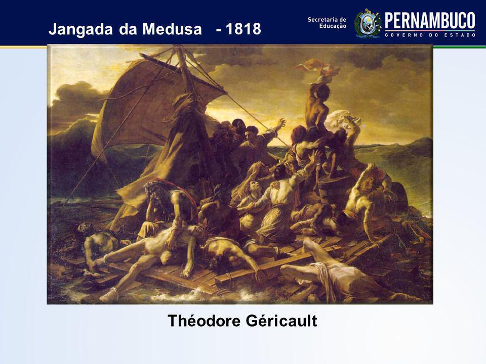 Jangada da Medusa - 1818 Théodore Géricault