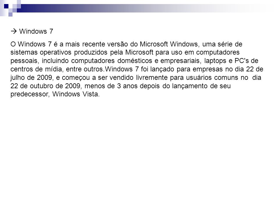  Windows 7