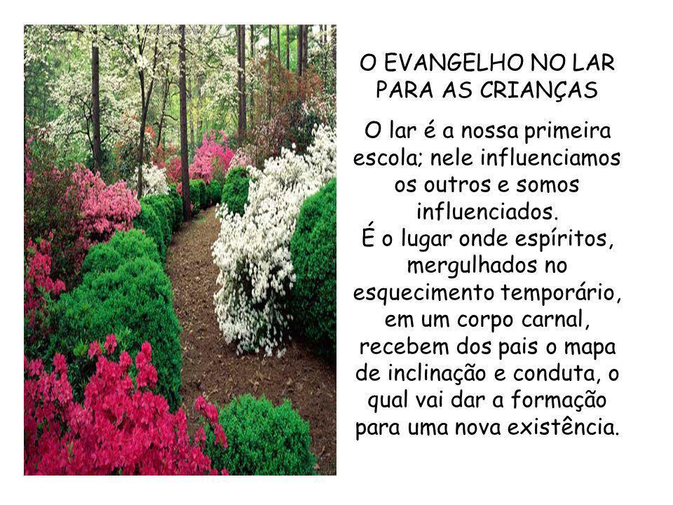O EVANGELHO NO LAR PARA AS CRIANÇAS