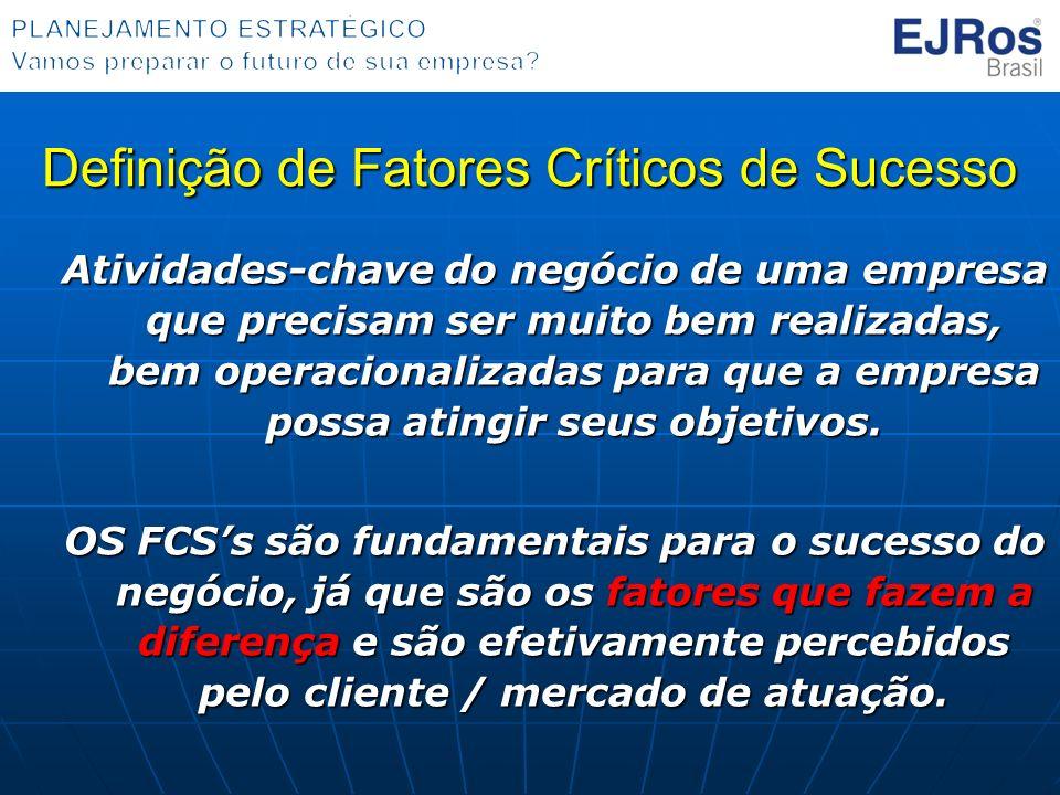 Definição de Fatores Críticos de Sucesso