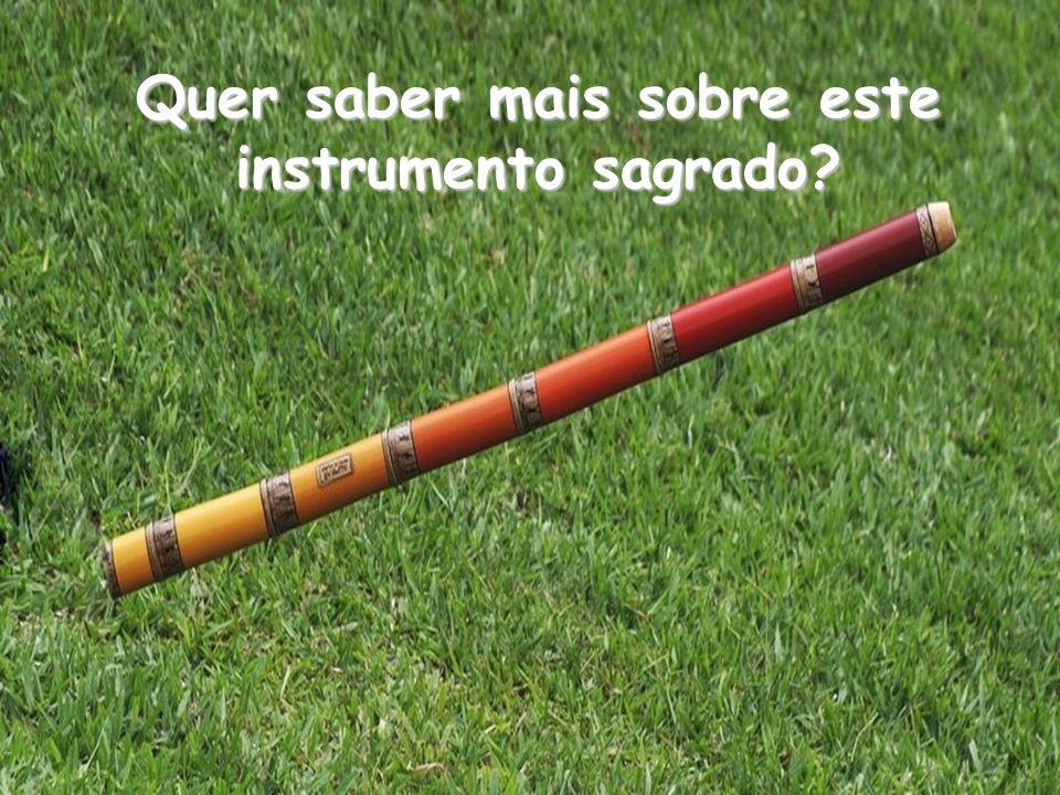 Quer saber mais sobre este instrumento sagrado