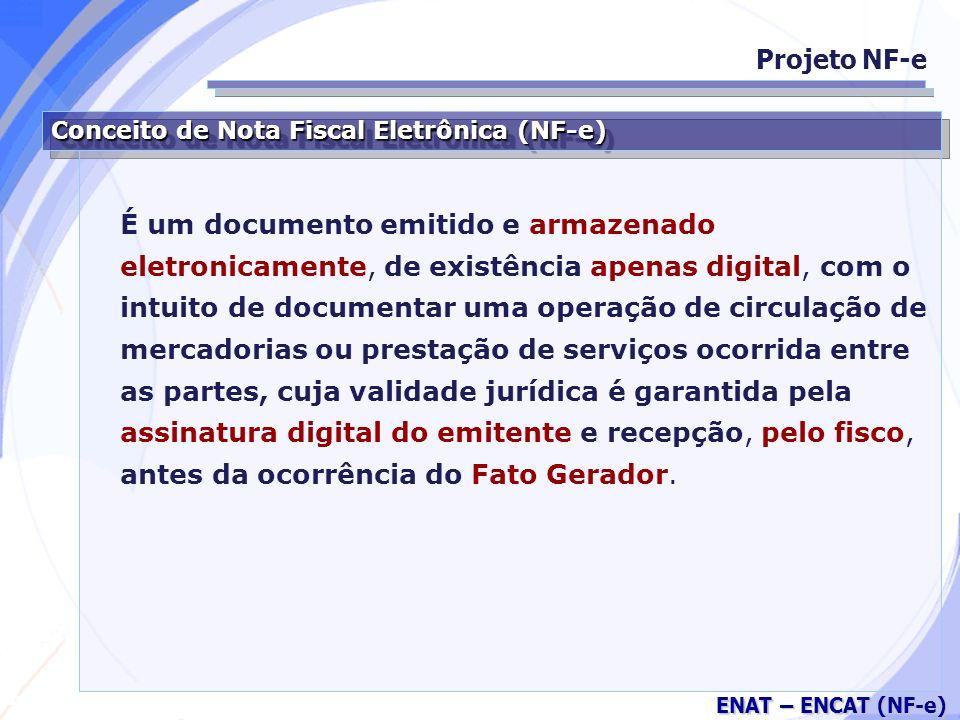 Projeto NF-e Conceito de Nota Fiscal Eletrônica (NF-e)