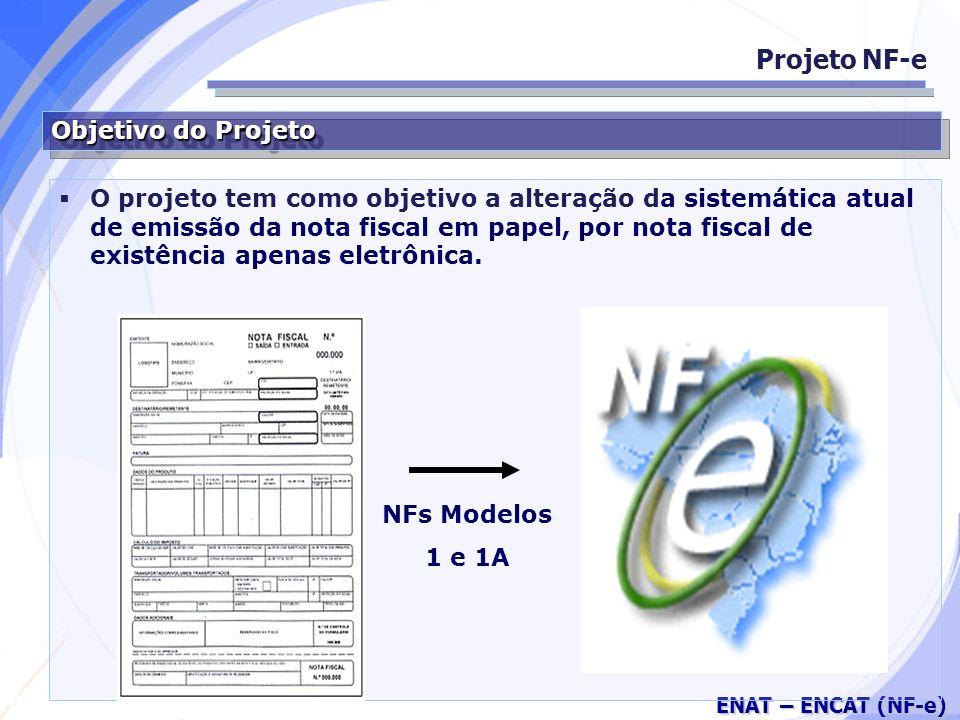 Projeto NF-e Objetivo do Projeto