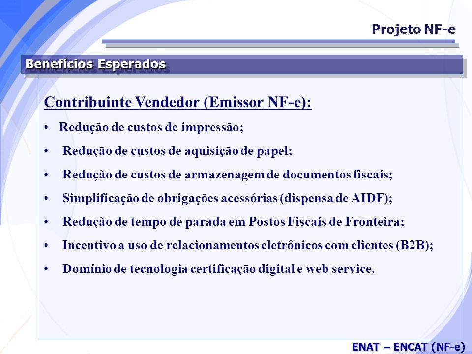 Contribuinte Vendedor (Emissor NF-e):