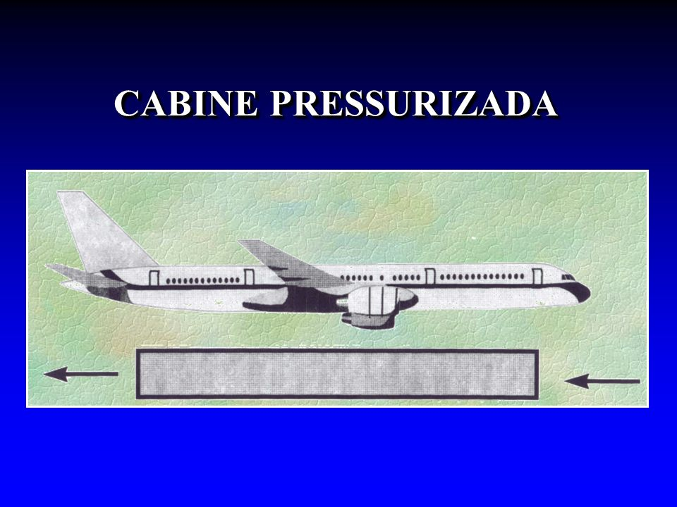 CABINE PRESSURIZADA