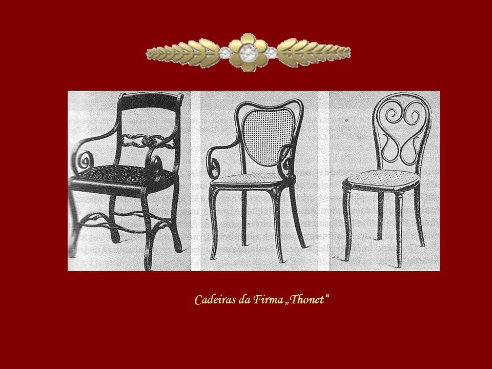 """Cadeiras da Firma """"Thonet"""