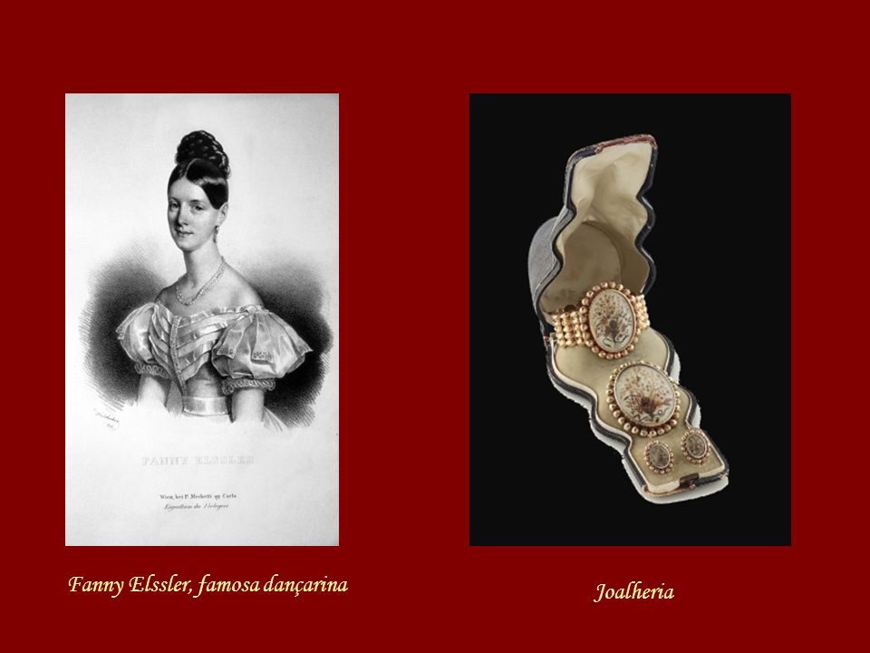 Fanny Elssler, famosa dançarina
