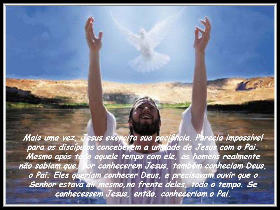 Mais uma vez, Jesus exercita sua paciência