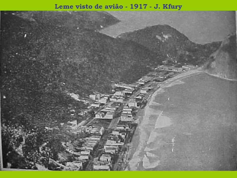 Leme visto de avião - 1917 - J. Kfury