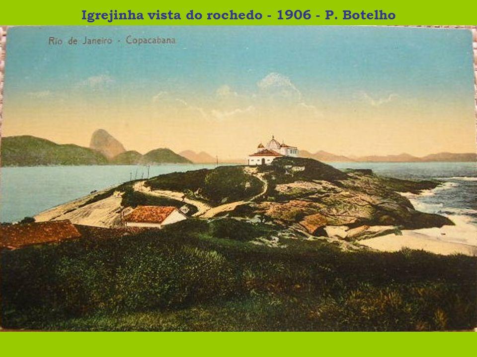 Igrejinha vista do rochedo - 1906 - P. Botelho