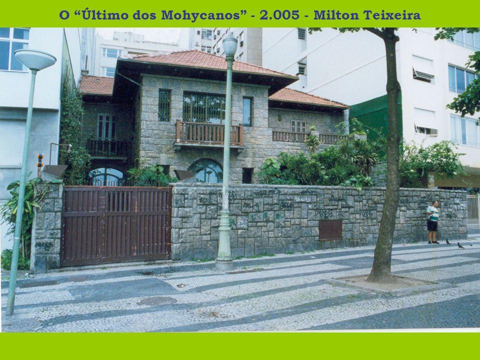 O Último dos Mohycanos - 2.005 - Milton Teixeira