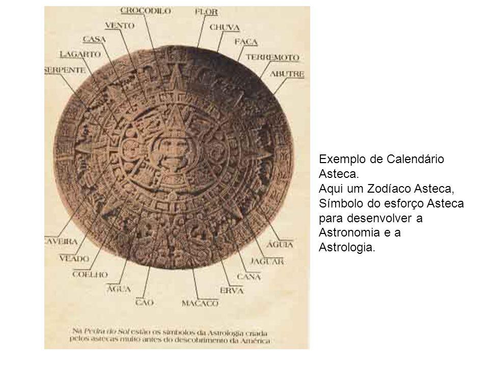 Exemplo de Calendário Asteca. Aqui um Zodíaco Asteca, Símbolo do esforço Asteca. para desenvolver a.