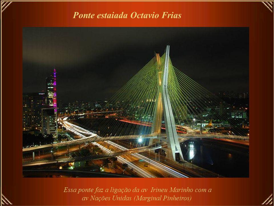 Ponte estaiada Octavio Frias