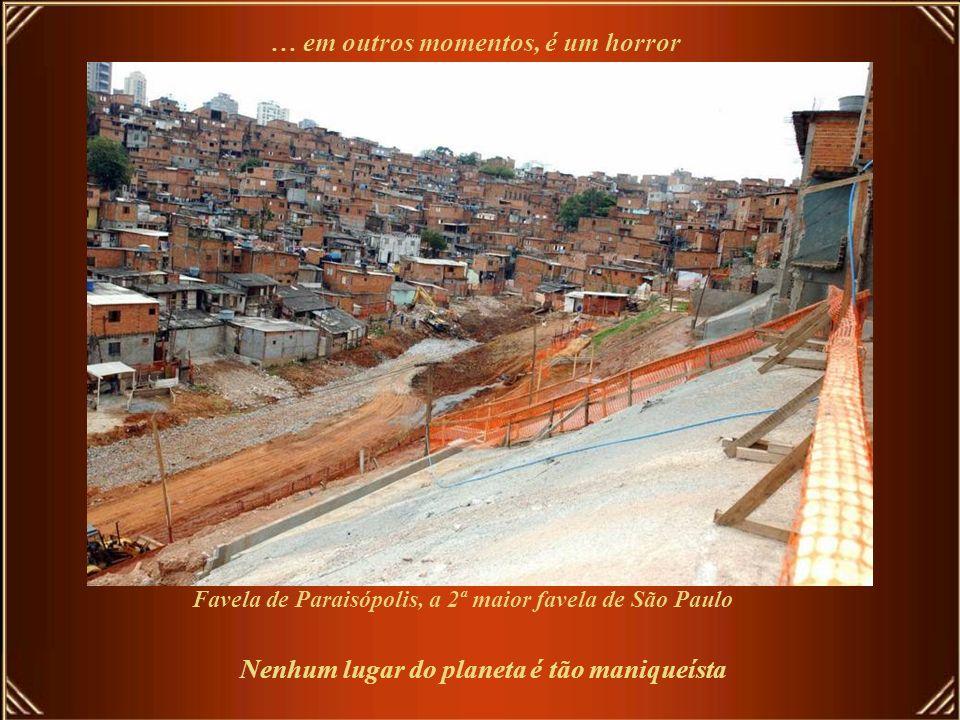 Favela de Paraisópolis, a 2ª maior favela de São Paulo
