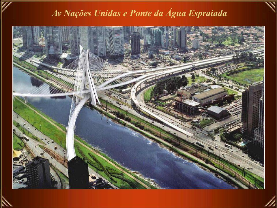 Av Nações Unidas e Ponte da Água Espraiada