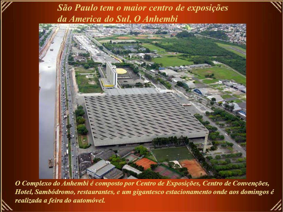 São Paulo tem o maior centro de exposições