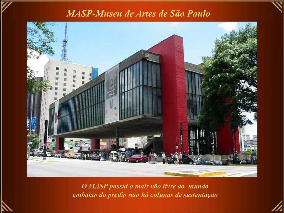 MASP-Museu de Artes de São Paulo