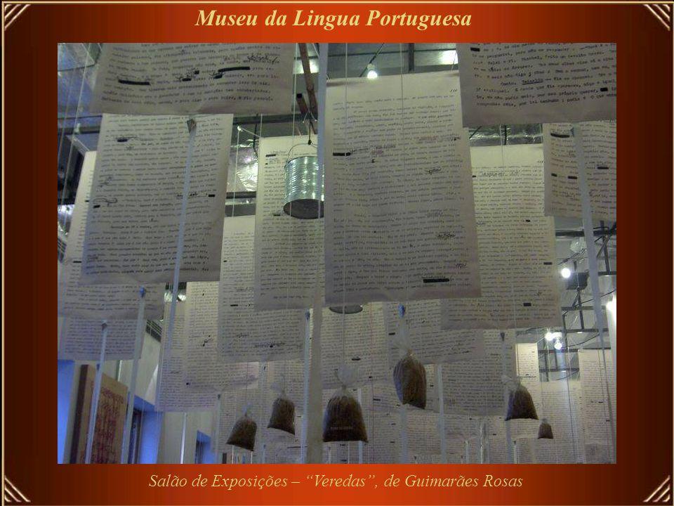 Salão de Exposições – Veredas , de Guimarães Rosas