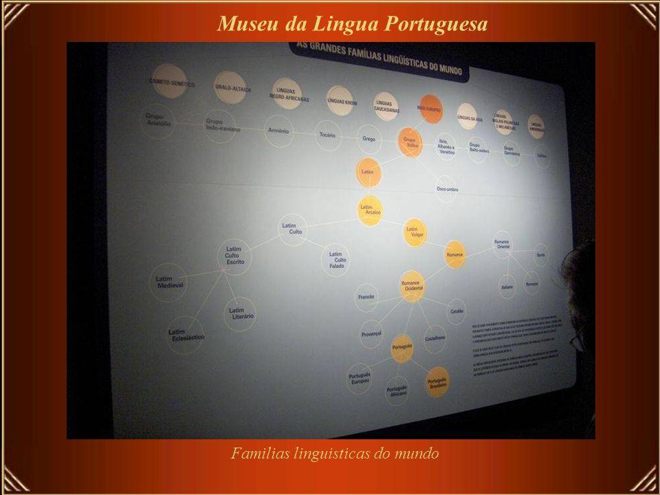 Familias linguisticas do mundo