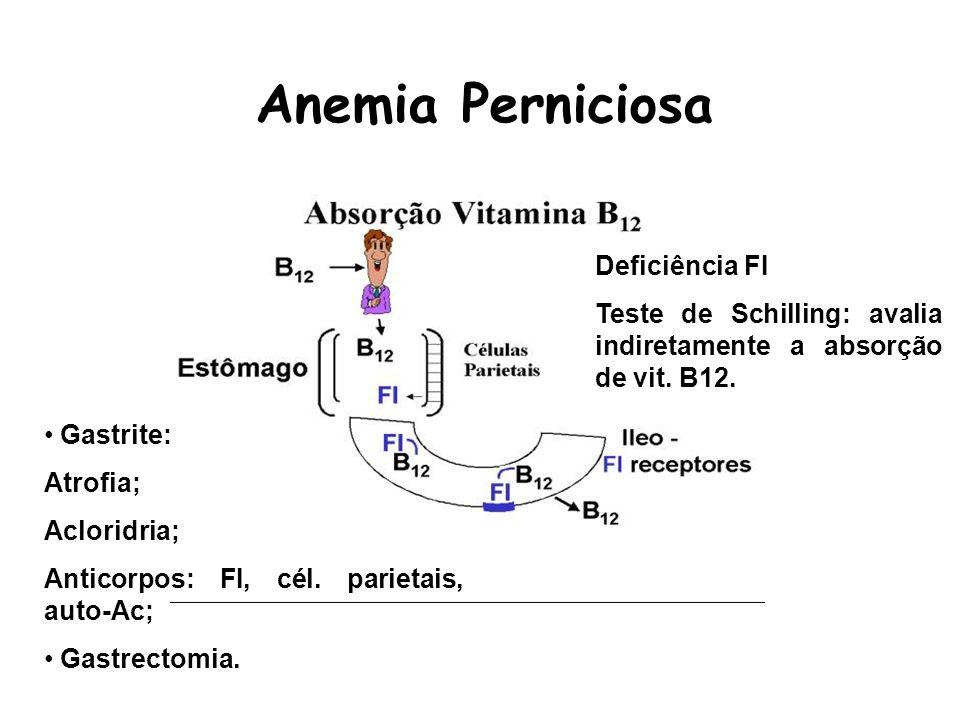 Anemia Perniciosa Deficiência FI