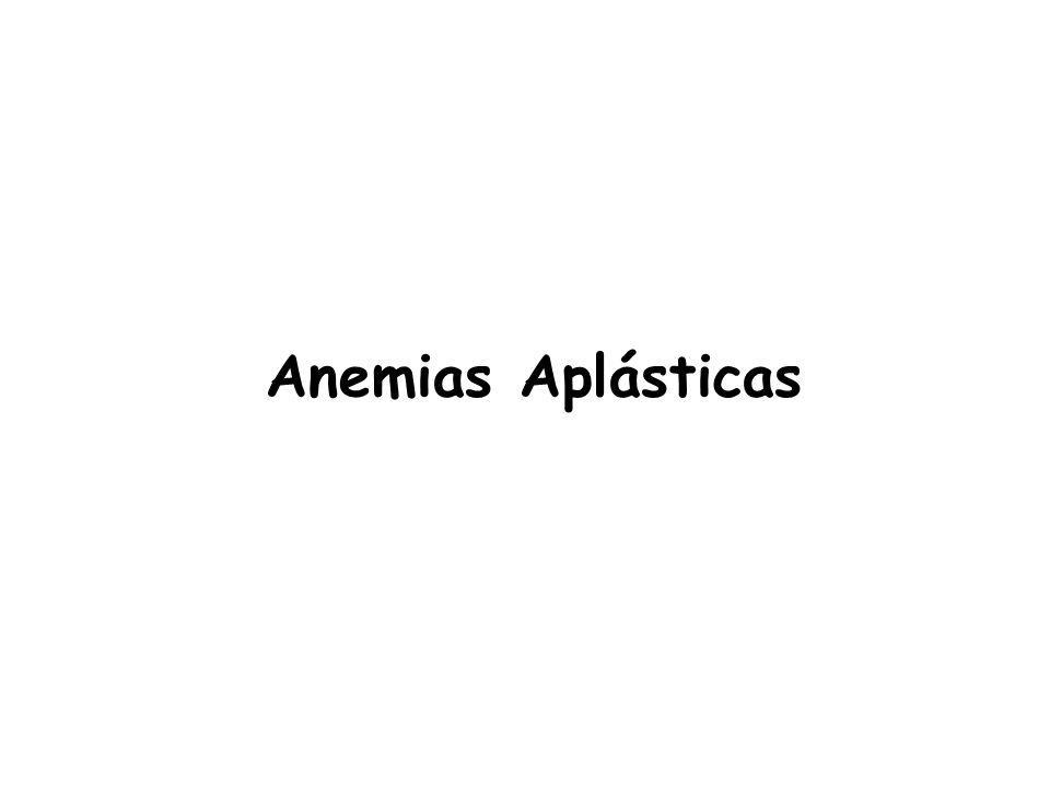 Anemias Aplásticas