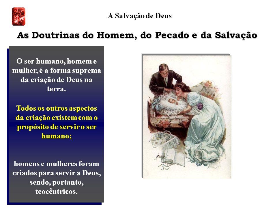 As Doutrinas do Homem, do Pecado e da Salvação