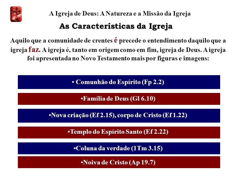 A Igreja de Deus: A Natureza e a Missão da Igreja