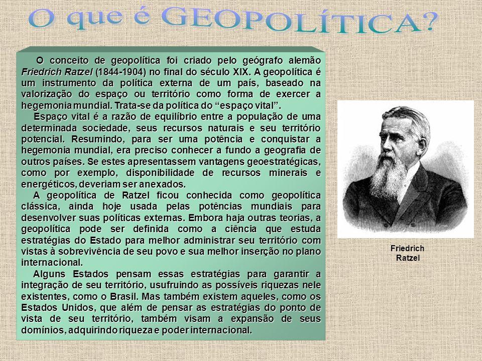 O que é GEOPOLÍTICA