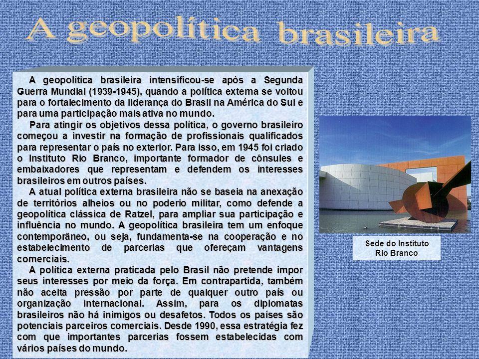 Sede do Instituto Rio Branco