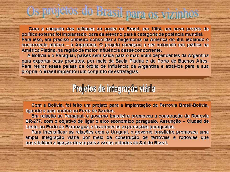 Os projetos do Brasil para os vizinhos