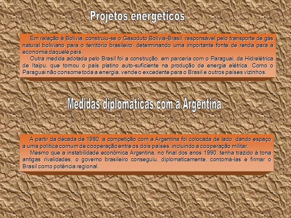 Medidas diplomáticas com a Argentina