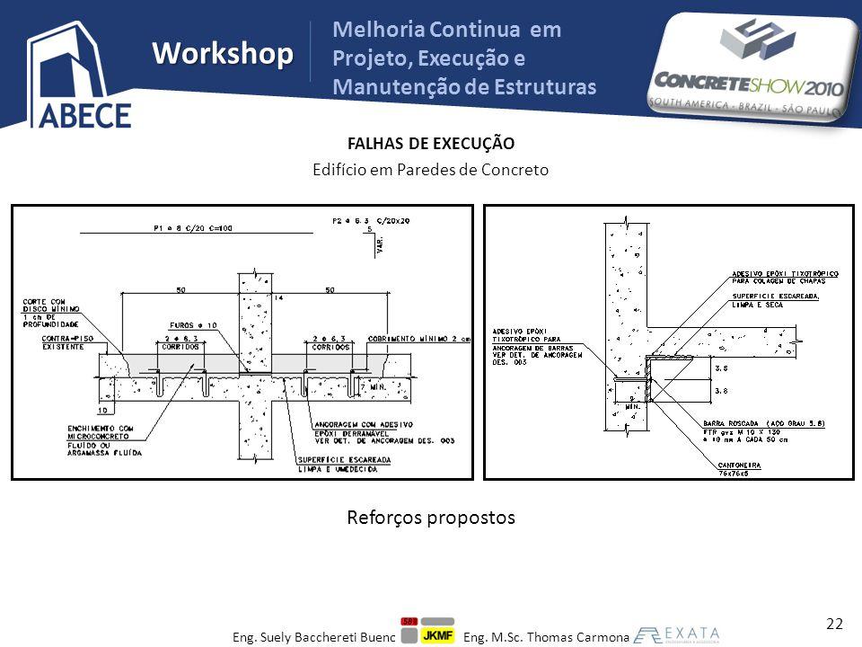 Melhoria Continua em Projeto, Execução e Manutenção de Estruturas