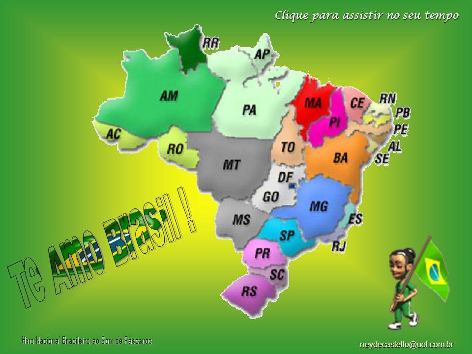 Te Amo Brasil ! Clique para assistir no seu tempo
