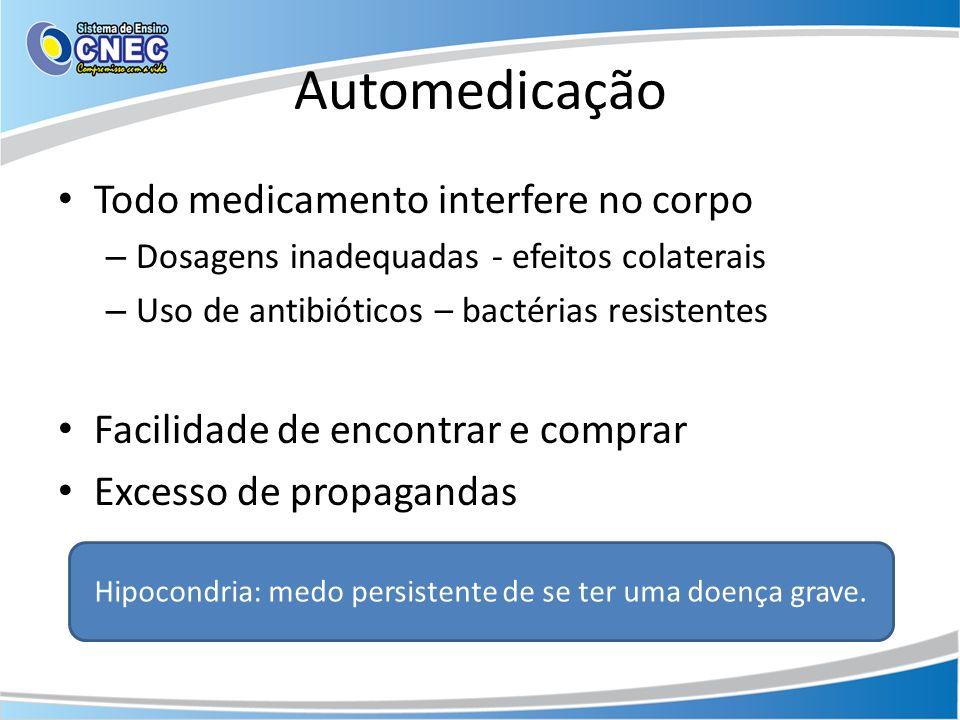 Hipocondria: medo persistente de se ter uma doença grave.